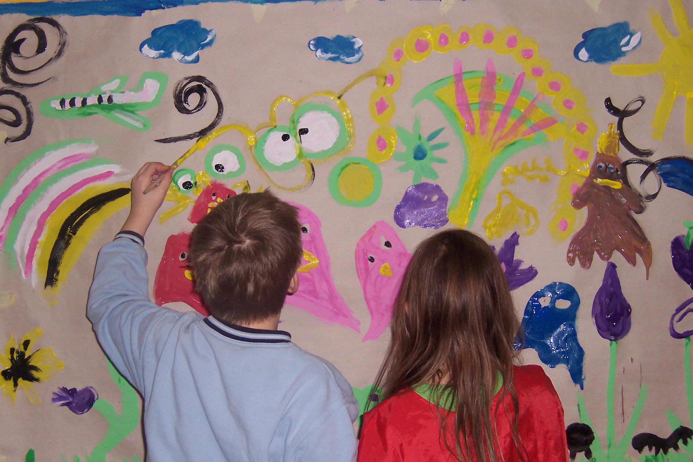Malprojekte Mit Kindern Bunte Projekte
